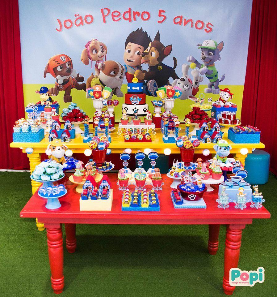 decoracao festa infantil patrulha canina : decoracao festa infantil patrulha canina:Hoje temos esta linda Festa Patrulha Canina!